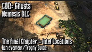 COD: Ghosts All Exodus Intel Locations The Final