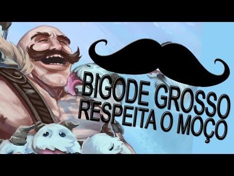 Zona Lag - Braum Bigode Grosso ♫ (MC Marcely - Bigode Grosso PARODY)
