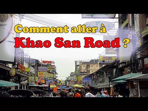 comment aller à khao san ?