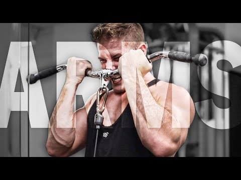 Biceps & Triceps Workout For BIG ARMS (MORE REPS & LESS RESTING!)