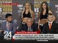 24 Oras Manny Pacquiao at Jeff Horn nagharap sa press conference ng kanilang laban