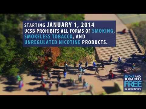 Smoke and Tobacco Free | UC Santa Barbara