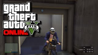 "GTA 5 Online How To Open The ""SECRET"" Elevator In Fort"