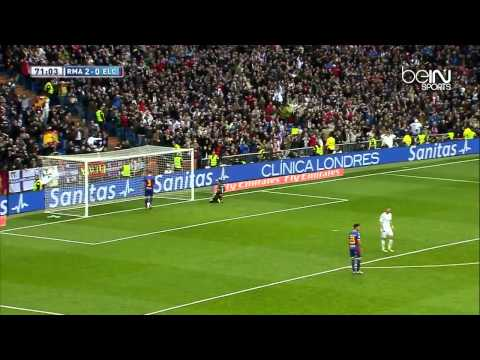 Real Madrid 3 0 Elche HD La Liga 22/2/2014