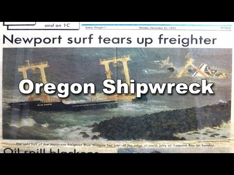 1983 Newport Oregon Shipwreck