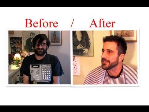Cut Hair Trim Your Beard With Clippers Scissors Trimmer Mens Haircut