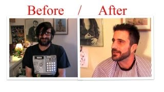 Man Makeover : How To Cut Hair Trim Your Beard With