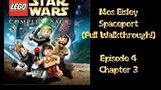 Walkthrough MOS EISLEY SPACEPORT Lego Star Wars Complete
