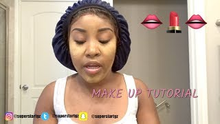 MAKE-UP TUTORIAL: Full Face Make Up
