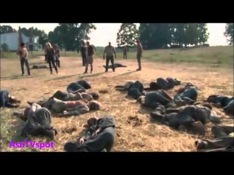 The Walking Dead - The Barn Scene