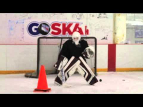 Mark Siegel practice with Voity Goaltending