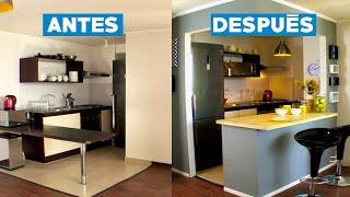 Remodelar una cocina americana