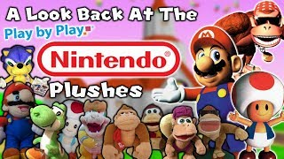 A Look Back At The Play-By-Play Nintendo Plushes!