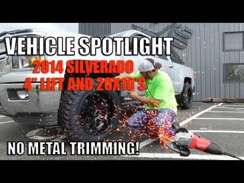 Spotlight - 2014 Chevy Silverado 1500, 4