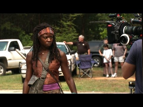 Michonne: Inside The Walking Dead, Danai Gurira introduces you to her fan favorite character from the comics - Michonne. Season 3 behind the scenes
