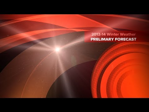 2013-14 Winter Weather Preliminary Forecast