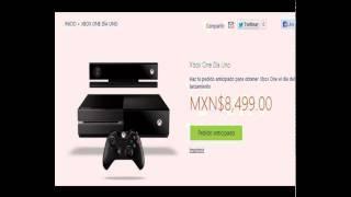 Precio Oficial Del Xbox One En Mexico Mas El Nuevo Diseño