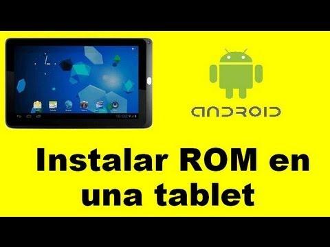 Tutorial instalar una ROM en un tablet