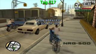 GTA San Andreas 100 Tags Guide (Complete)