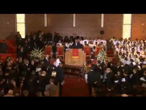 whitney elizabeth houston funeral service 18 february 2012 newark, new jersey