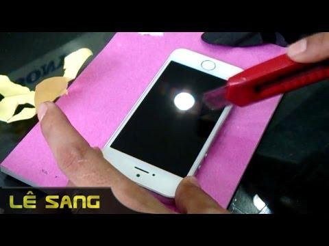 [LÊ SANG] Hướng dẫn cách dán kính cường lực điện thoại, iphone