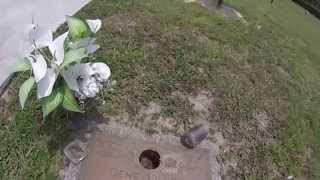 [Gene Tracy Gravesite @ Sunset Memory Gardens] Video