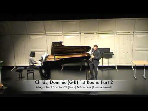 Childs, Dominic G B 1st Round Part 2