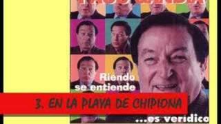 Paco Gandía: En la playa de Chipiona