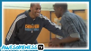 How To Steal A Basketball With NBA Pro Arron Afflalo How
