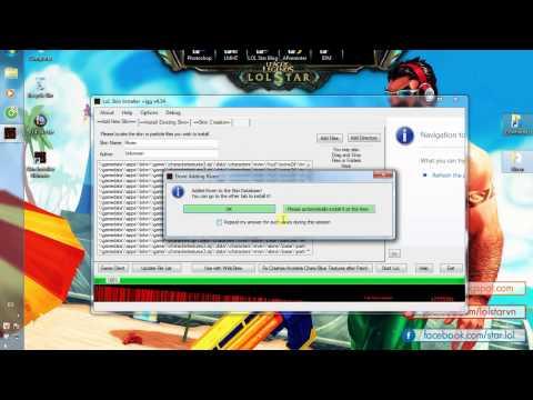 Hướng dẫn mod LMHT 4.10 bằng phần mềm Skin Installer Ultimate (mới nhất)