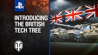 The British are coming to World of Tanks on PS4