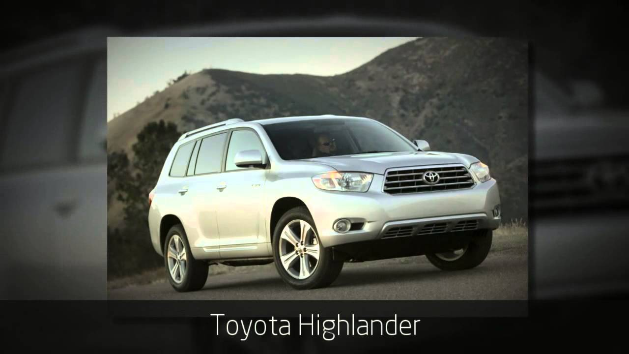 List Of Toyota All Wheel Drive Vehicles Youtube