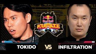 Red Bull Kumite 2016 : Tokido vs. Kazunoko - Winners Semi