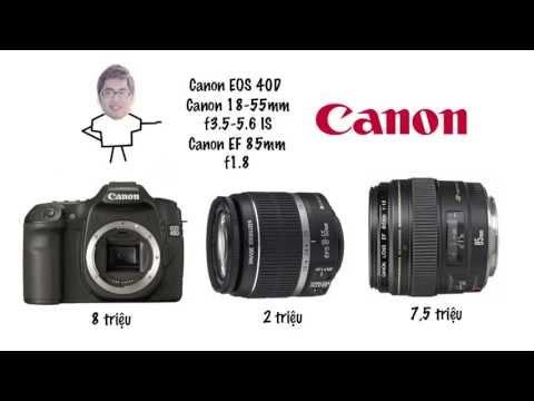 (DucTienLucas) Tư vấn chọn mua máy ảnh DSLR dưới 20 triệu (LucasBlue) - Canon Nikon