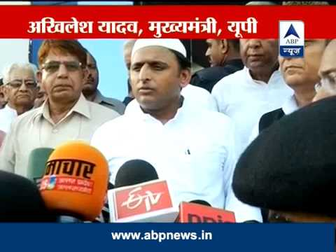 CM Akhilesh Yadav blames political parties for fanning tensions in Muzaffarnagar