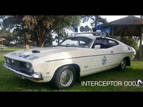 FORD falcon XB COUPE HIGHWAY PATROL INTERCEPTOR VICTORIA POLICE cars