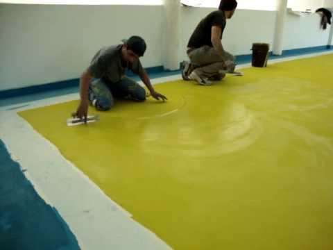 4 argos aplicacion de microcemento color youtube - Colores de microcemento ...