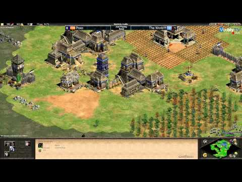 AoE2TC Arabia Maya vs Huns