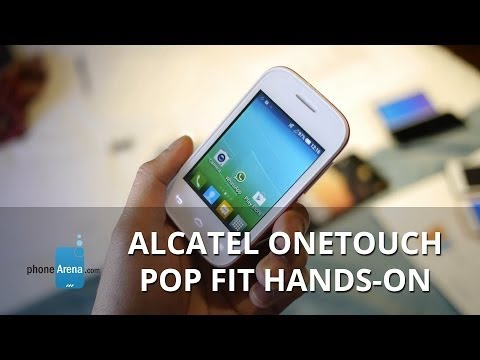 Alcatel OneTouch Pop Fit hands-on: the fitness