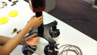 Installing the Ladybug3 360° Spherical Camera on top of a car