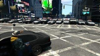 GTA IV PC Group Stunts/BUSTED! & Demolition Derby (19