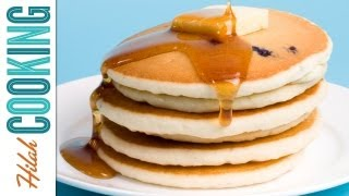 How To Make PANCAKES Buttermilk Pancake Recipe