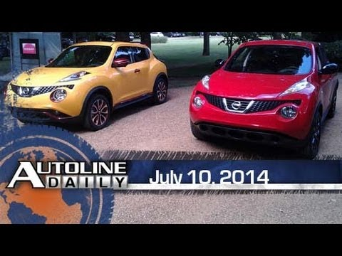 China's Dirty EVs, Nissan's Refreshed 2015 Juke - Autoline Daily 1411