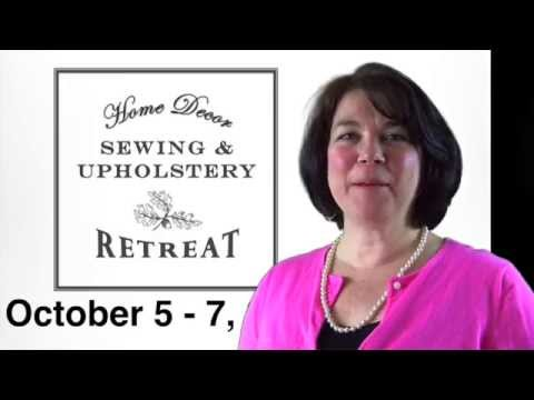 Sewing And Upholstery Retreat Class Description