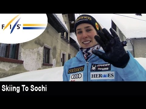 Skiing to Sochi with Marie Michèle-Gagnon