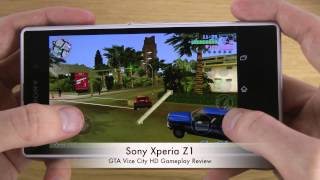GTA Vice City Sony Xperia Z1 HD Gameplay Review