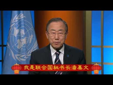 Ban Ki-moon - Chinese New Year 2014