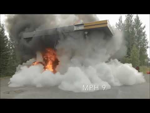 Saphir powder extinguisher