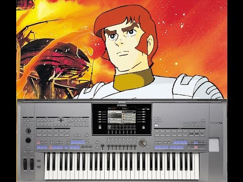 Captain Future Theme (Christian Bruhn) - Yamaha Tyros 5