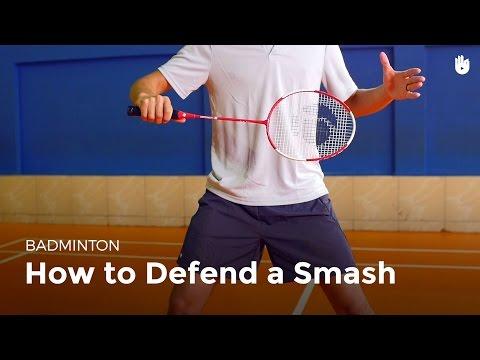 How to Defend a Smash | Badminton